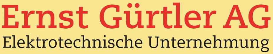 Ernst Gürtler AG Ihr Elektriker in der Region Basel